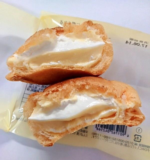 シャトレーゼダブルシュークリーム