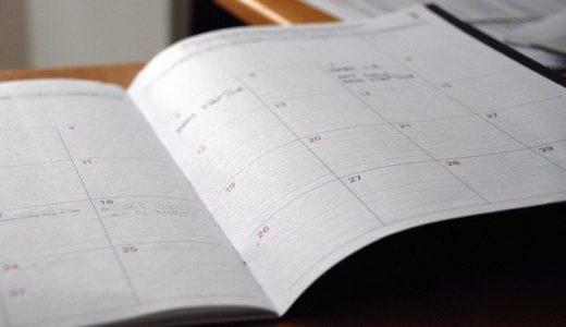 毎月の体調管理に手帳を使うようになりました。